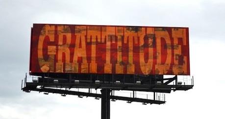 grattitude Billboard